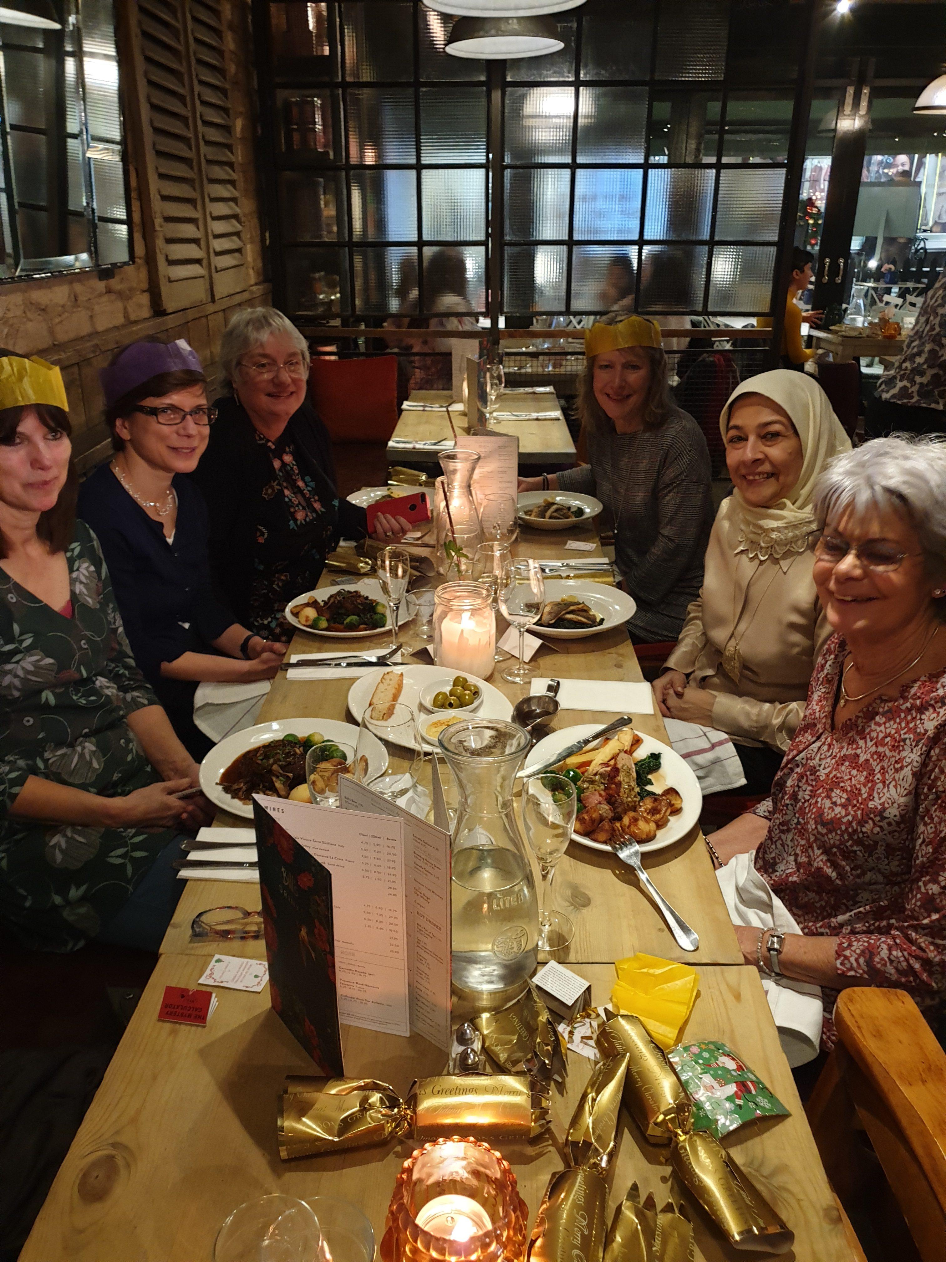Christmas dinner at Bill's
